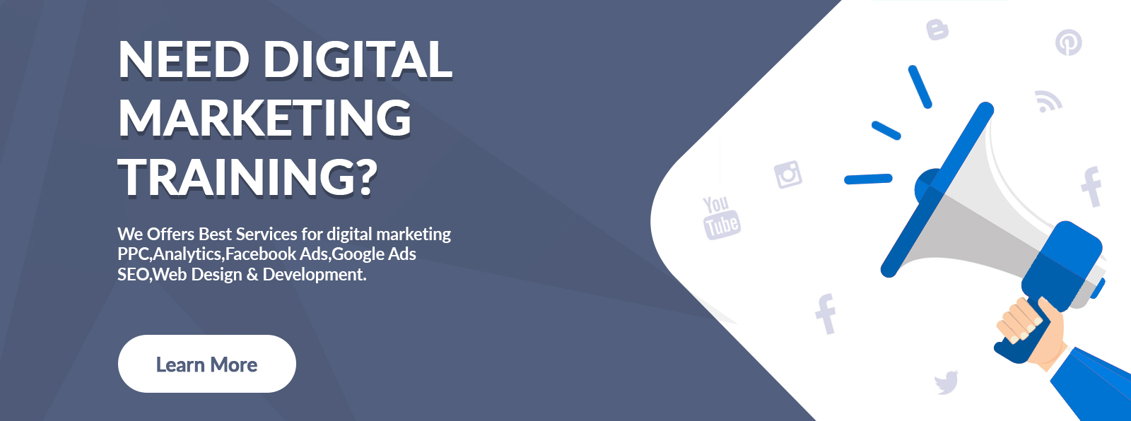 need digital marketing training